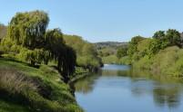 Quiet flows the Severn