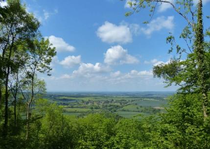 Welsh hills horizon