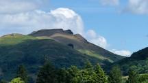 Mountainous view near Church Stretton