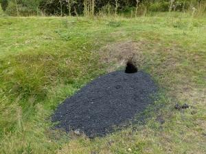 Mr Brock's coal mine