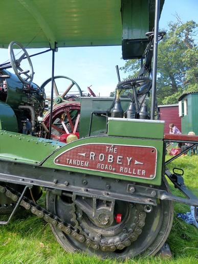 Robey tandem roller