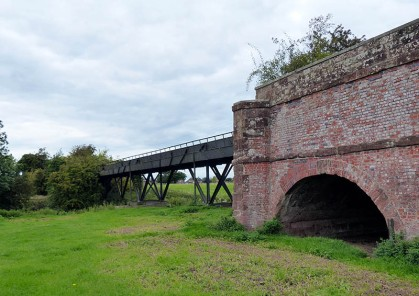 The aqueduct...