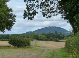 Heading for the Wrekin