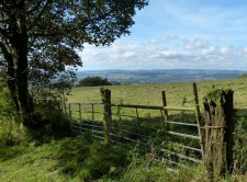 View to Wenlock Edge