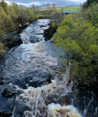 River Snizort, Skeabost