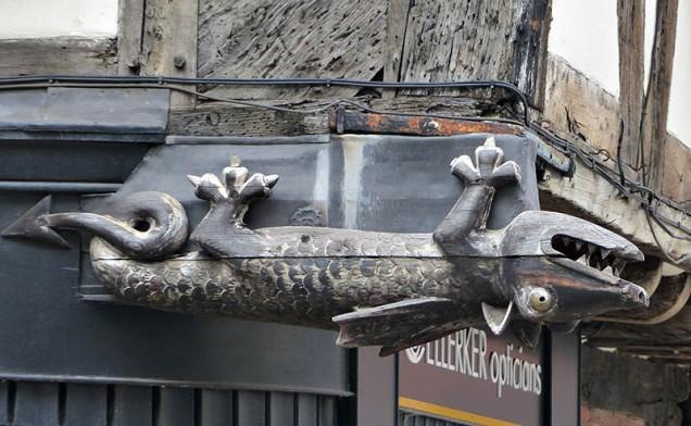 Danglin' dragon