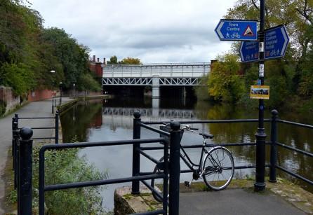 Bike 'n' bridge