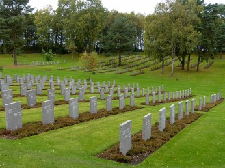 The German war cemetary