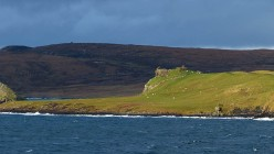 ...and the remains of Duntulm