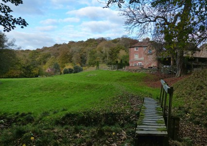 Sheinwood Manor and the mill race
