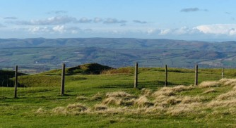 View to the Mynd