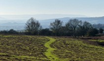 Path to the Black Mountains