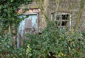 Sad roadside cottage