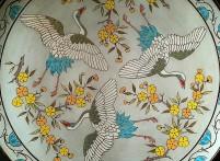 Circling birds