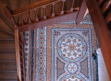 Mosaic in the hall