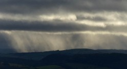 Shower over Beacon Hill