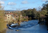 Ludford - the horseshoe weir