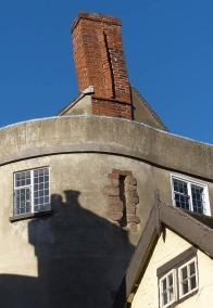 Wonky chimney