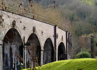 The viaduct...