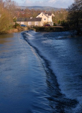 Mill St weir