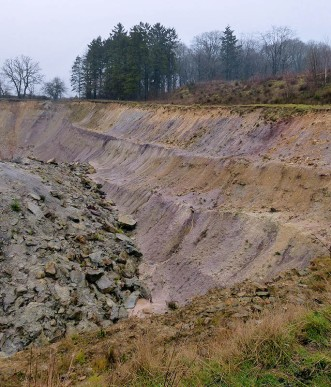 Clay pit