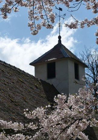 Blossom and Benthall church