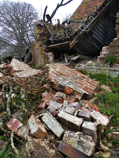 Fallen walls