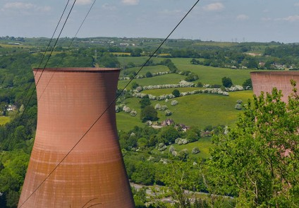 Cooling towers and distant may