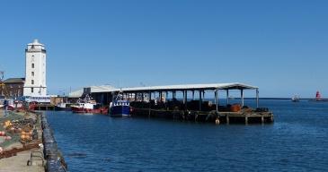 North Shields fish dock