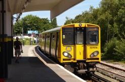 Our train for Moreton