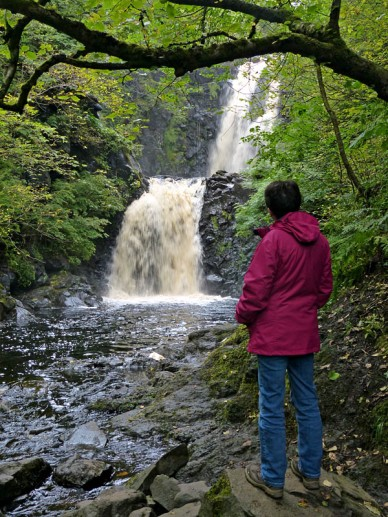 The Rha waterfall