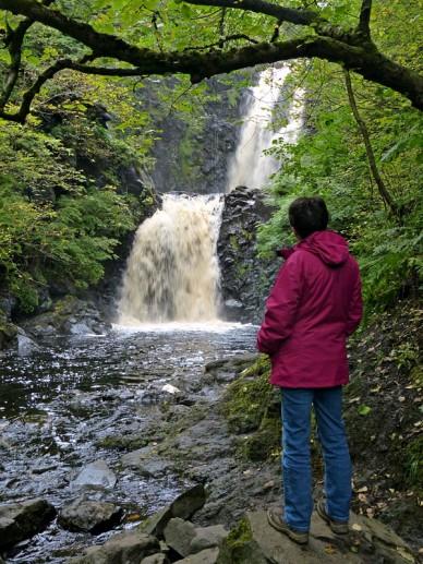 The Rha waterfall