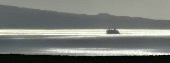 Later that day: the ferry from Lochmaddy