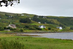 Uig bay from the shore path