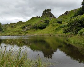 Castle Ewen in the Fairy Glen