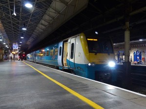 Crewe - 175011, today's last train.