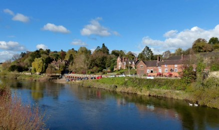 Beside the Severn at Arley