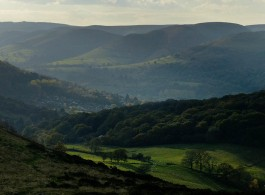 Autumn light on the Mynd