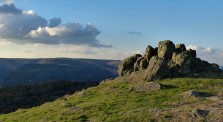 Rocks and Long Mynd