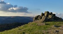 Rocks and Long Mynd