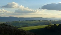 Late afternoon - view to Wenlock Edge