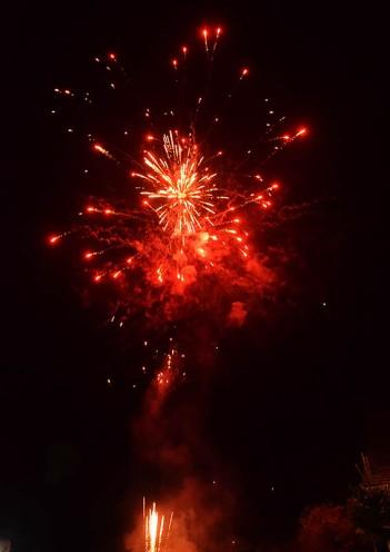 ... Fireworks ...