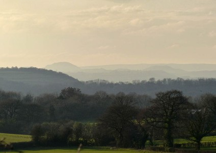 VIew to Caer Caradoc and the Mynd