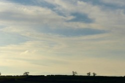 ... and a wintry sky
