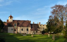 Benthall - church and hall