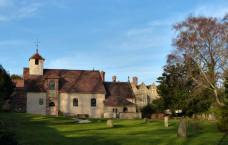 Benthall - church and hall