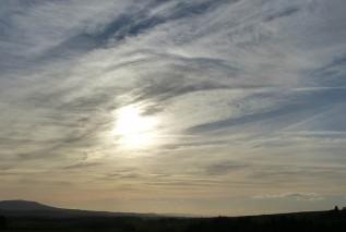 January sky