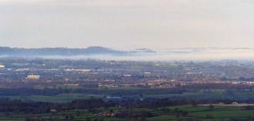 Fog in north Shropshire