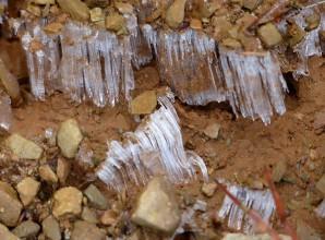Ice on the path