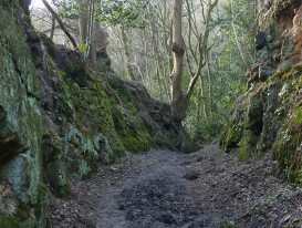Old way in the quarries